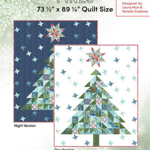 Flurries And Pines Pattern By Create Joy Project For Moda -  Minimum Of 3