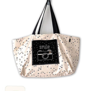 Carry A Smile Bag Pattern For Moda - Minimum Of 3