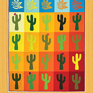 Saguaro Pattern By Everyday Stitches For Moda - Minimum Of 3