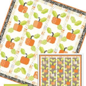 Pumpkin Farm Pattern By Fig Tree Co. For Moda - Minimum Of 3