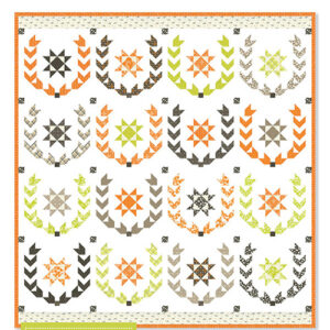 Laurel Wreath Pattern By Fig Tree Co. For Moda - Minimum Of 3
