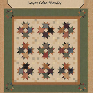 Homespun Stars Pattern By Kansas Troubles Quilters For Moda - Minimum Of 3