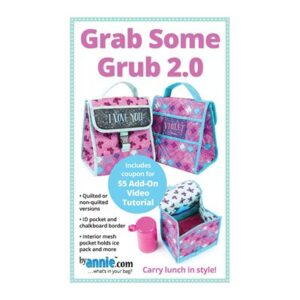 Grab Some Grub 2.0 Pattern By Annie For Moda - Minimum Of 3