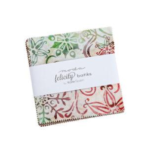 Felicity Batiks Charm Packs By Moda - Packs Of 12