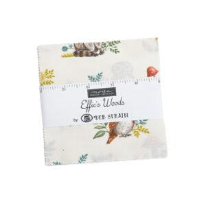 Effie\'s Woods Charm Packs By Moda - Packs Of 12