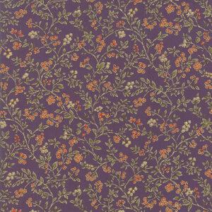 Arboretum Metallic By Moda - Purple