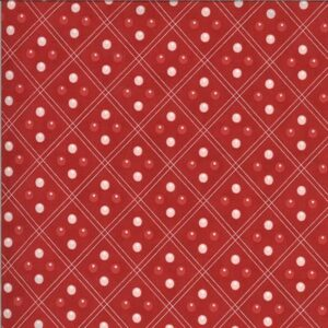 Harbor Springs By Minick & Simpson For Moda - Red