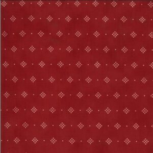 Redwork Gatherings By Primitive Gatherings For Moda - Red