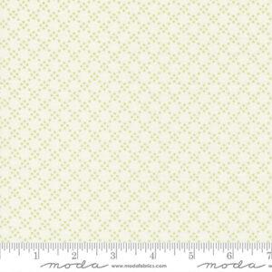 Grace By Brenda Riddle For Moda - Linen White - Willow