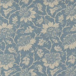 La Vie Boheme - Carmen Mochi Linen By French General For Moda - French Blue