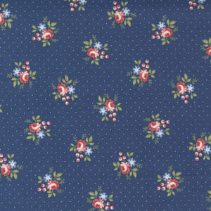 Belle Isle By Minick & Simpson For Moda - Navy