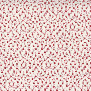 Belle Isle By Minick & Simpson For Moda - Cream - Red