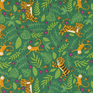 Jungle Paradise By Stacy Iest Hsu For Moda - Monstera
