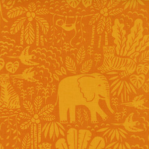 Jungle Paradise By Stacy Iest Hsu For Moda - Orange