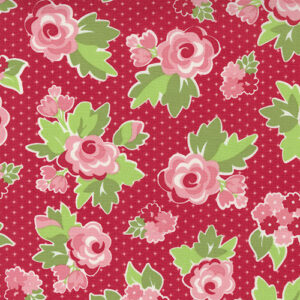 Love Lily By April Rosenthal For Moda - Cherry