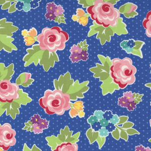 Love Lily By April Rosenthal For Moda - Blueberry