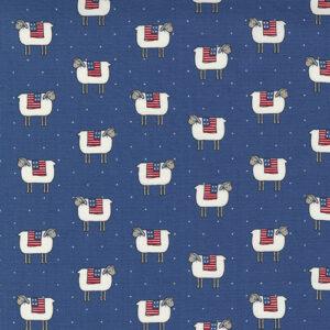 Prairie Days By Bunny Hill Designs For Moda - Dusk Blue