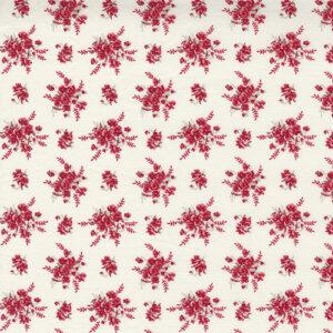 Prairie Days By Bunny Hill Designs For Moda - Milk White - Red
