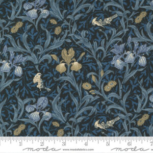 Best Of Morris By Barbara Brackman For Moda - Indigo - Tonal