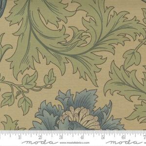 Best Of Morris By Barbara Brackman For Moda - Sage Green