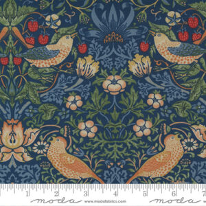 Best Of Morris By Barbara Brackman For Moda - Indigo