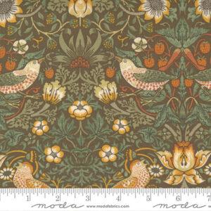 Best Of Morris By Barbara Brackman For Moda - Brown