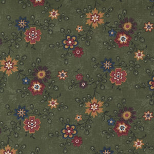 Hope Blooms By Kansas Troubles For Moda - Sage