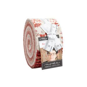 Bonheur De Jour Jelly Rolls By Moda - Packs Of 4