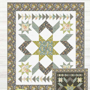 Fields Of Green Pattern By Lavender Lime For Moda - Minimum Of 3