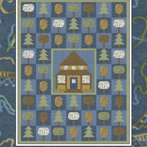 Forest Living Pattern By Coach House Designs For Moda - Minimum Of 3