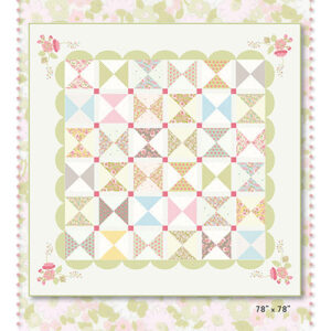 Fresh Picked Pattern By Acorn Quilt & Gifts For Moda - Minimum Of 3