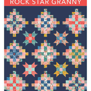 Rock Star Granny Pattern By Crystal Manning For Moda - Minimum Of 3