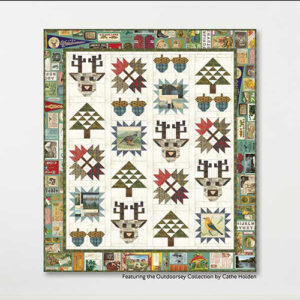 Take A Hike Pattern By Crabtree Arts Collective For Moda - Minimum Of 3