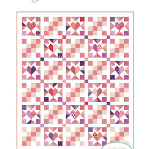 Good Hearted Pattern By Chelsi Stratton Designs For Moda - Minimum Of 3