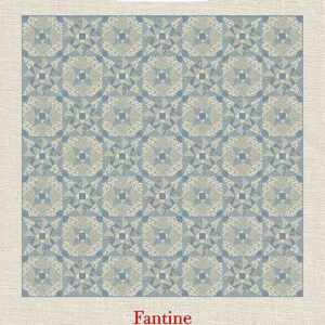 Fantine Pattern By French General For Moda - Minimum Of 3