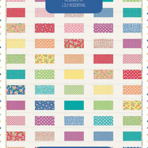 Stacked Rainbow Pattern By Prairie Grass Patterns For Moda - Minimum Of 3