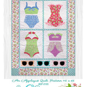 Beach Baby Pattern By The Quilt Factory For Moda - Minimum Of 3