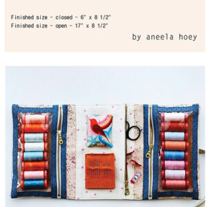 Make And Go Pouch Pattern For Aneela Hoey For Moda - Minimum Of 3