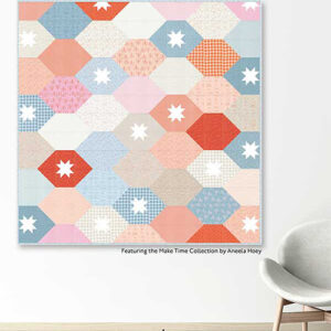 Stacked Tiles Pattern By Crabtree Arts Collective For Moda - Minimum Of 3