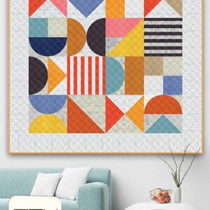 Bauhaus Pattern By Zen Chic For Moda - Minimum Of 3