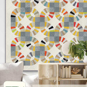 Paper Beauty Pattern By Zen Chic For Moda - Minimum Of 3