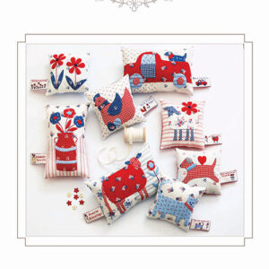 Tag Your It Pincushions Patterns By Bunny Hill Designs For Moda - Minimum Of 3