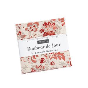 Bonheur De Jour Charm Packs By Moda - Packs Of 12