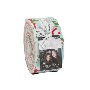 Merry Little Christmas Jelly Rolls By Moda - Packs Of 4