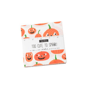 Too Cute To Spook Charm Packs By Moda - Packs Of 12