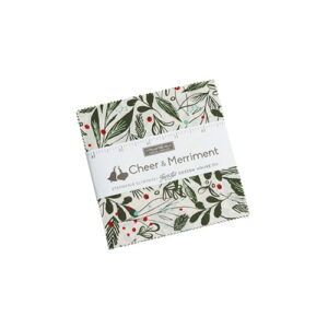 Cheer And Merriment Charm Packs By Moda - Packs Of 12
