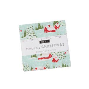 Merry Little Christmas Charm Packs By Moda - Packs Of 12