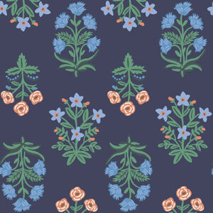 Camont By Rifle Paper Co. For Cotton + Steel - Navy