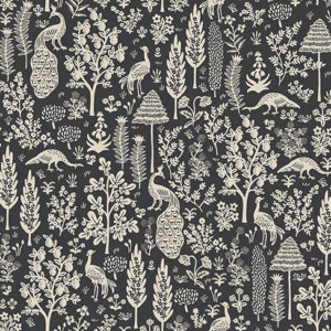 Camont By Rifle Paper Co. For Cotton + Steel - Black
