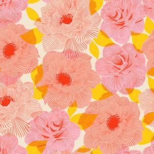 Camellia By Melody Miller Of Ruby Star Society For Moda - Balmy